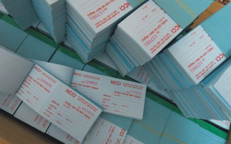 Tại Tphcm nên in vé giữ xe, phiếu giữ xe giá rẻ ở đâu?