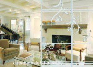 Lợi ích khi sử dụng vách ngăn nhôm kính phòng khách