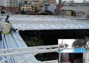 Làm mái che di động giá rẻ tại Biên Hòa