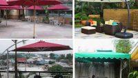 Cung cấp dù che nắng quán cafe (cà phê) đẹp, rẻ tại Tphcm