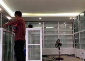 Báo giá tủ thuốc tây nhôm kính, tủ thuốc y tế tại TPHCM
